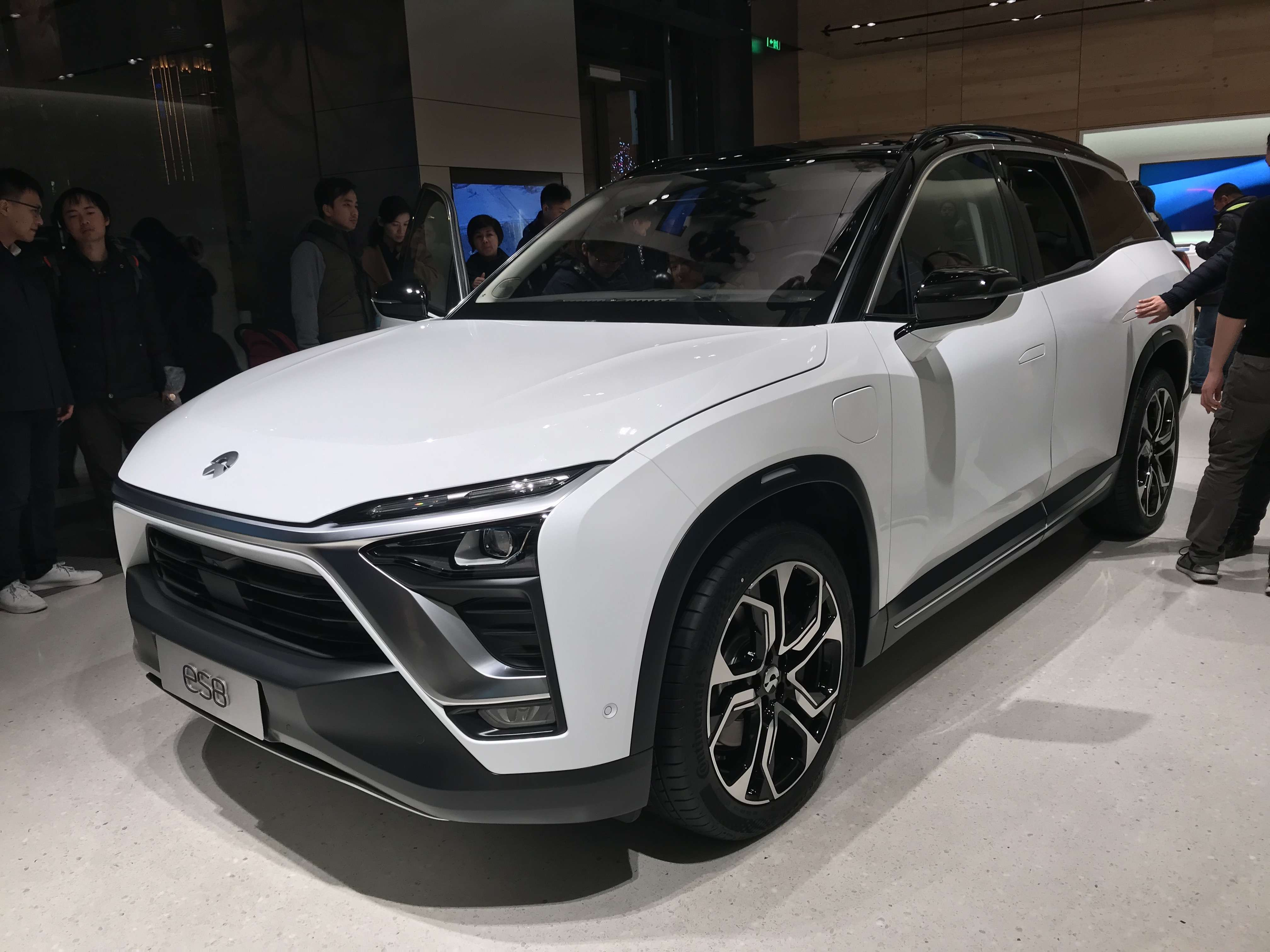 The Chinese-made Nio ES8 electric vehicle. (Image Credit: Jengtingchen/Wikimedia Commons)