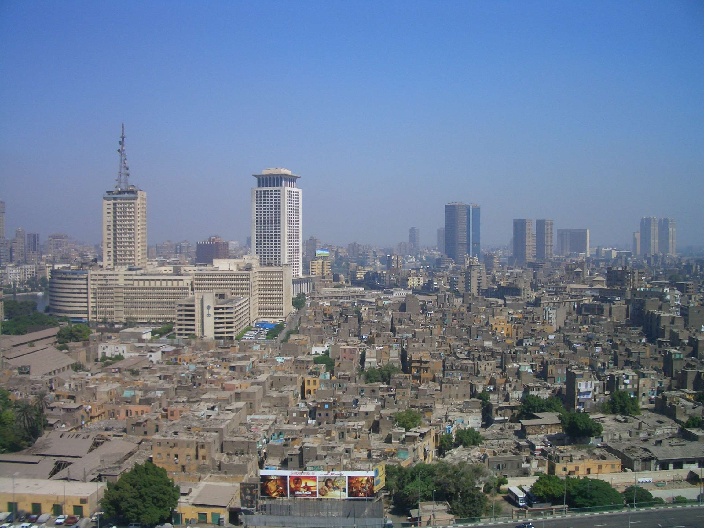 A daytime view of the Cairo skyline. (Image Credit: Stuart Geiger/Flickr)