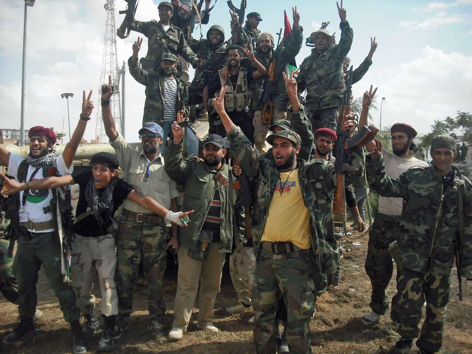 Libya civil war militias