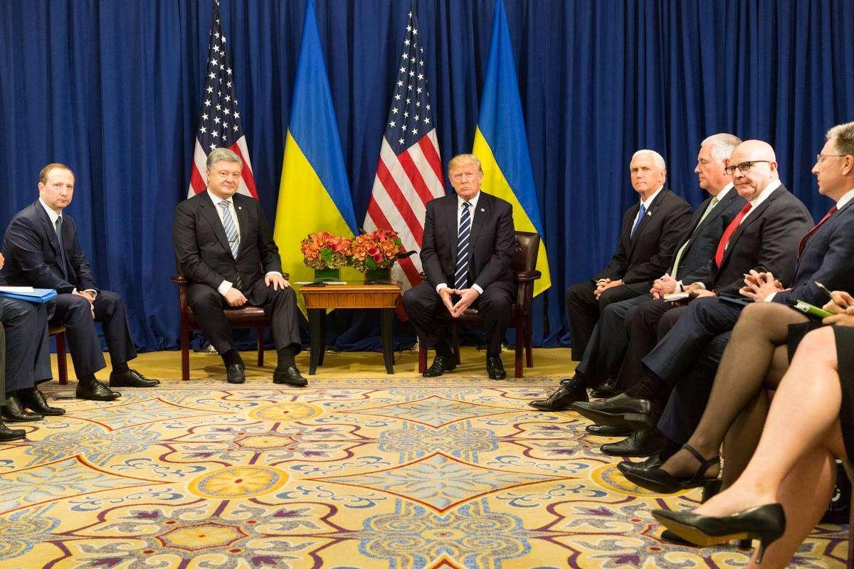 trump ukraine leader