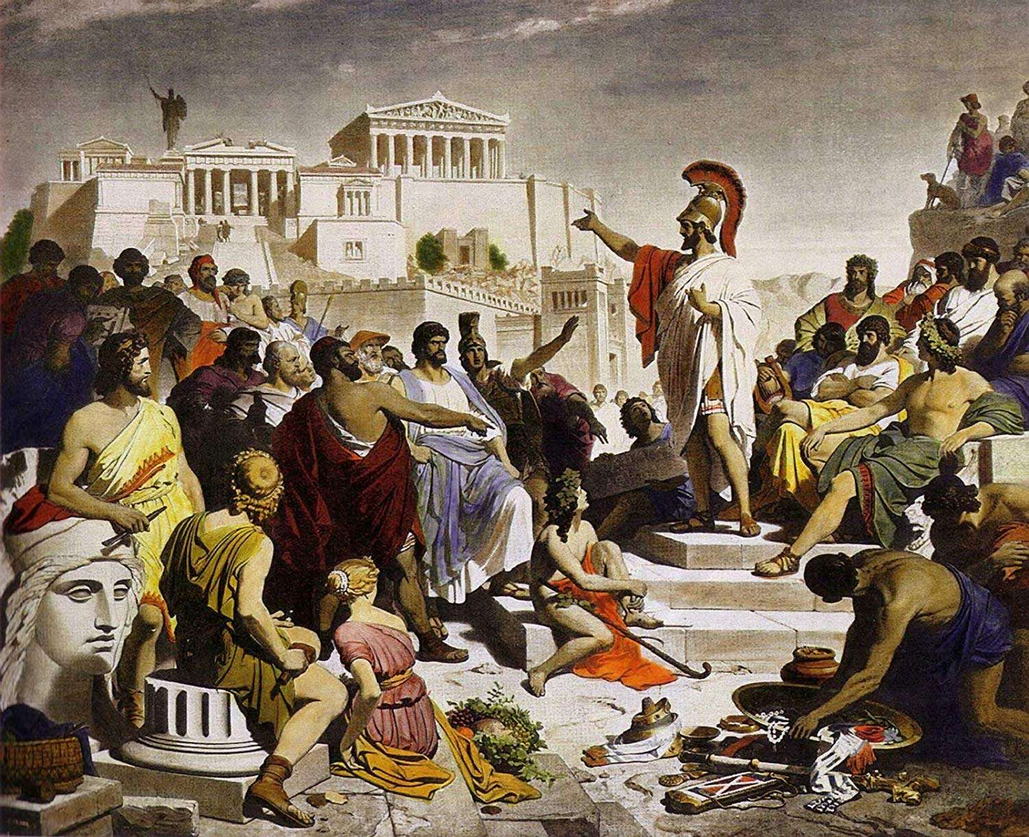 Pericles funeral speech
